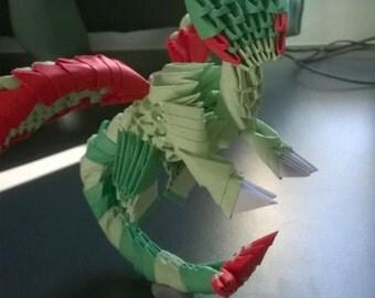 Modular Origami Flygon