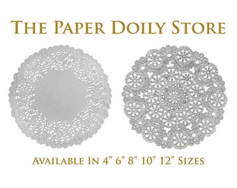 """SILVER Doily 