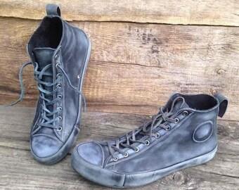 Leather sneakers KEDAS