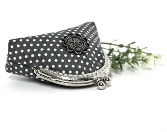 Coin purse | retro clasp | gift for her