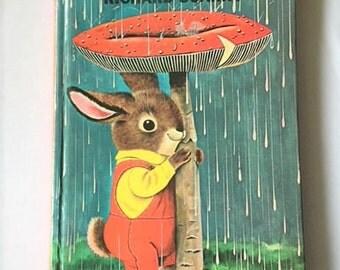 RICHARD SCARRY I am a Bunny  Golden Sturdy Book 1963