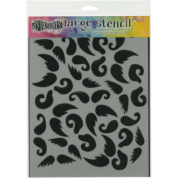 Dyan Reaveley's Dylusions Stash Of 'Tache, mustache designs perfect for mixed media, scrapbooking, journaling and so much more