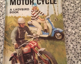 How it Works - The Motor Cycle Ladybird Book Series 654 1968
