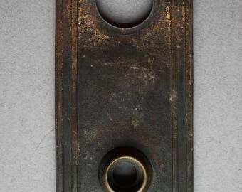 Russell & Erwin Co. Classical Revival Antique Door Backplate