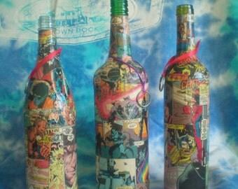 comic book incense bottle