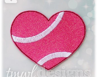 Tennis Heart Slider Digital Design File