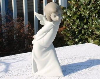 Lladro Figuarine Titled Curious Angel