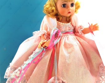 Vintage MADAME ALEXANDER Glenda The Good Witch Retired Wizard Of Oz Doll Glenda Princess Storybook No Dorothy Toto
