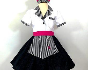 Diner Waitress Costume