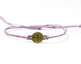 Cross bracelet | Simple bracelet | Bracelet gift | Friendship bracelet | Layer bracelet | Delicate bracelet | Boho bracelet | Stackable