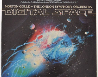 Vintage 70s Digital Space Morton Gould The London Symphony Orchestra Gatefold Japan Album Record Vinyl LP
