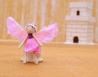 Flower Fairy Doll - flower fairies, waldorf fairy doll, waldorf fairies, miniature fairy doll, miniature fairies, small fairy doll, pixie