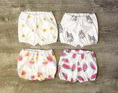 Baby bloomers, baby girl clothes, organic bloomers, diaper cover, cake smash outfit, baby girl bloomers, toddler bloomers, baby pants