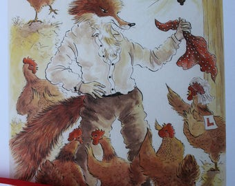 Hen Party - limited edition print by Leila Winslade at Farcical Foxes.