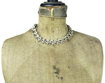 Coro Gold Collar Necklace, Coro Gold Choker Necklace, Coro Gold Cleopatra Collar Necklace, Coro Gold Link Necklace, Coro Gold Necklace