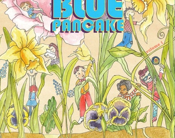 Blue Pancake Children's Activity, Craft and Coloring Book