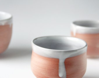 Wheel thrown ceramic cup