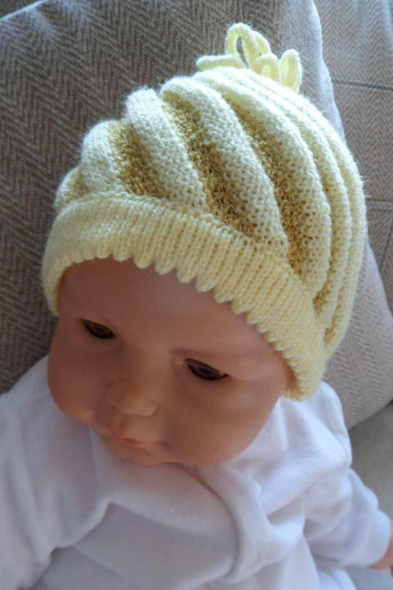 Machine Knitting Hat Pattern Child Or Adult Pdf Instant Download