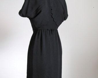 Vintage 1960's Little Black Dress