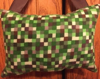 BRAND NEW FABRIC! Minecraft personalized tooth fairy pillow