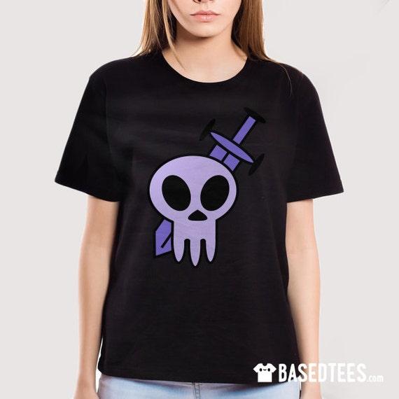 Skull and Sword - T-Shirt