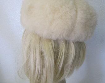Tuscan Lamb Hat Shearling Fur Hat Italian Lambswool Hat