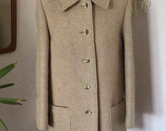 Vintage St Michael Wool Coat