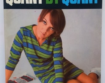 Vintage 1960s Mary Quant autobiography Quant by Quant