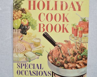 Holiday Cookbook Better Homes and Gardens 1960s Vintage Cookbook PanchosPorch