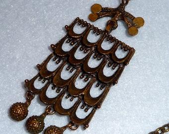Necklace. Bronze. Pentti Sarpaneva. Finland.