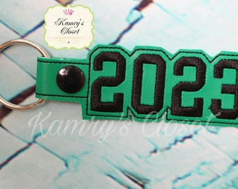 2023 SNAP Key Fob In The Hoop - DIGITAL Embroidery DESIGN