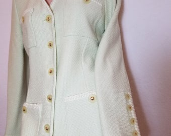 FREE  SHIPPING   Vintage St. Johns Knit Suit