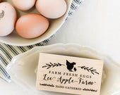 Custom Chicken Coop Egg Stamp with Free Shipping to US