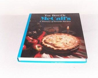 Treasury Of Favorite Recipes Cookbook The Best Of McCall's A Treasury Of Favorite Recipes Book America's Heritage International Recipes