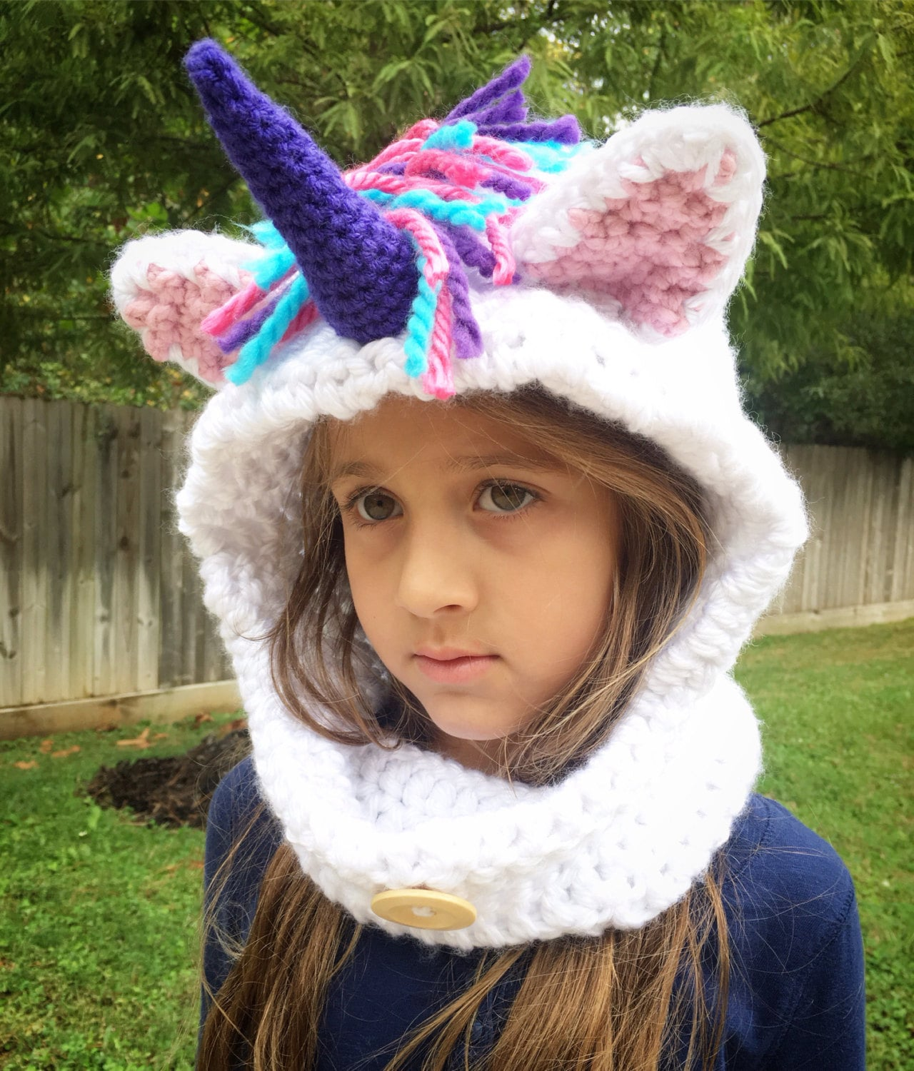 Hooded scarf pdf pattern hooded cowl scarf hooded scarves unicorn hood unicorn hat crochet cowl hooded cowl knit cowl chunky bankloansurffo Images