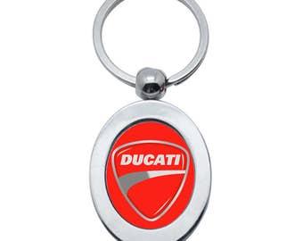 Ducati metal keychain