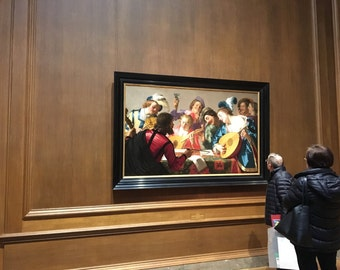 The Concert, 17th Century Dutch Oil Painting Print
