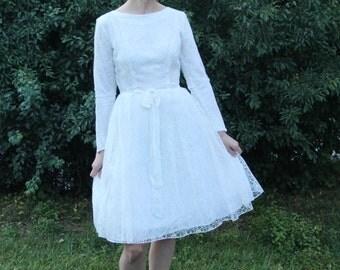 """50s Wedding Dress, """"Alva"""""""