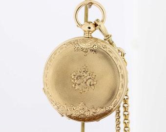 Locle E Raffin pocket watch Key Wind