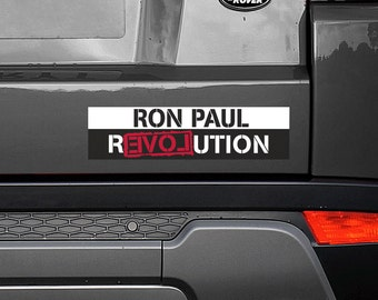 "Ron Paul Revolution 11.5""x3"" Bumper Sticker Decal"