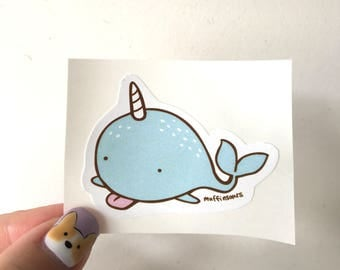 Narwhal Sticker