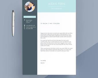modern cover letter template cover letter letterhead word template simple cover letter - Resume Cover Letter Letterhead