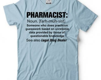 Pharmacist Noun T-Shirt Gift For Pharmacist Occupation Profession Tee Shirt
