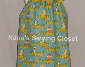 Lion King/Lion Guard  Summer Dress
