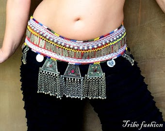 Bellydance, belly dance amazing belt, fusion belly dance belt