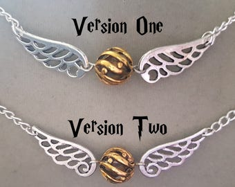 Golden Snitch necklace  V2 [SALE]