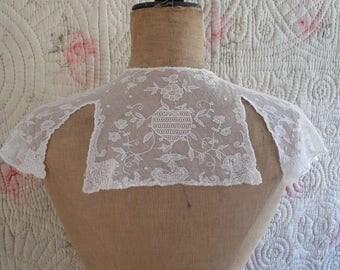 Antique Limerick lace collar