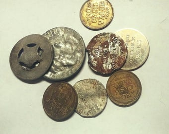 Lot of Old Tokens