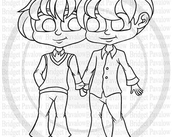Adult cartoon cards etsy for Esky coloring pages