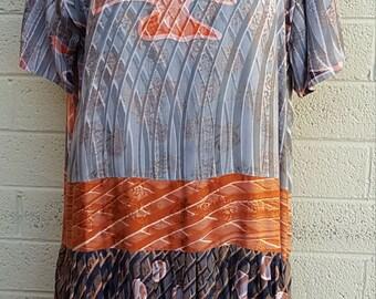 Kusnadi New York hand made artsy fun dress